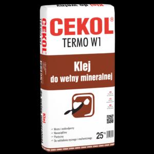 Klej do wełny mineralnej - Cekol TERMO W1