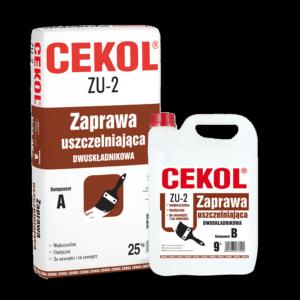 Cekol ZU-2 Zaprawa uszczelniająca dwuskładnikowa