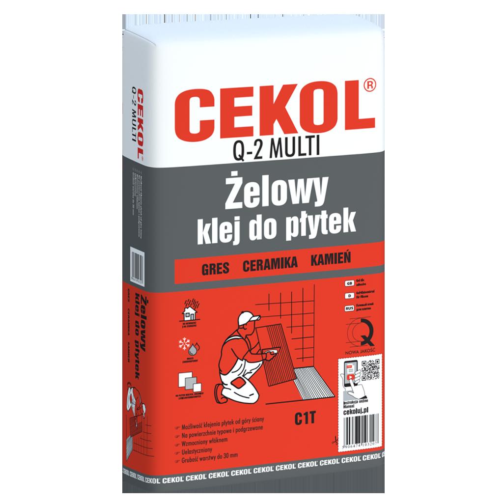 CEKOL Q-2 MULTI-Żelowy klej do płytek