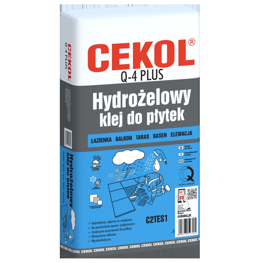 CEKOL Q-4 PLUS-Hydrożelowy klej do płytek